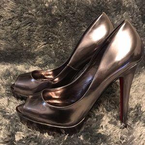 Shoedazzle Open Toe Pump